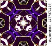 colorful kaleidoscopic pattern... | Shutterstock . vector #1177871134