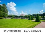 saint petersburg  peterhof ... | Shutterstock . vector #1177885201