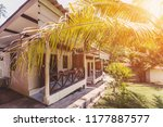 interior of tropical house... | Shutterstock . vector #1177887577