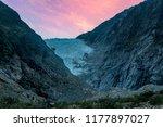 franz josef glacier in southern ...   Shutterstock . vector #1177897027