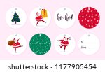 vector collection of christmas... | Shutterstock .eps vector #1177905454