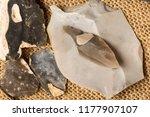 an arrowhead made from... | Shutterstock . vector #1177907107