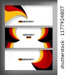germany flag concept background ... | Shutterstock .eps vector #1177924807
