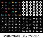 transport icons set | Shutterstock .eps vector #1177928914
