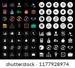 finance icons set | Shutterstock .eps vector #1177928974
