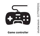 game controller icon vector... | Shutterstock .eps vector #1177939231