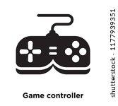 game controller icon vector... | Shutterstock .eps vector #1177939351