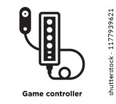 game controller icon vector... | Shutterstock .eps vector #1177939621