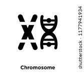 chromosome icon vector isolated ... | Shutterstock .eps vector #1177941934