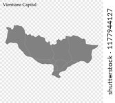 high quality map of vientiane... | Shutterstock .eps vector #1177944127