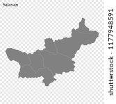high quality map of salavan is... | Shutterstock .eps vector #1177948591