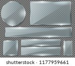 vector realistic set of... | Shutterstock .eps vector #1177959661