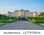 scenic view of famous schloss... | Shutterstock . vector #1177970914