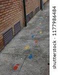 safe ways to walk to school for ... | Shutterstock . vector #1177986484