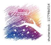 mid autumn festival background... | Shutterstock .eps vector #1177986514