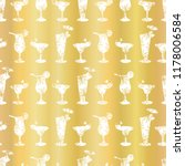 luxury gold foil frosty...   Shutterstock .eps vector #1178006584