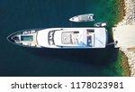 aerial drone bird's eye top... | Shutterstock . vector #1178023981