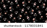 seamless floral pattern in... | Shutterstock .eps vector #1178031841