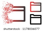 folder icon in sparkle  dotted... | Shutterstock .eps vector #1178036077