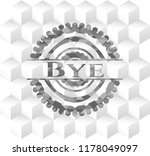 bye grey emblem. retro with... | Shutterstock .eps vector #1178049097