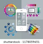 infographic concept  vector | Shutterstock .eps vector #1178059651