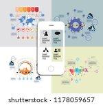 infographic concept  vector | Shutterstock .eps vector #1178059657