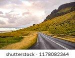 road in iceland. | Shutterstock . vector #1178082364
