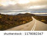 road in iceland. | Shutterstock . vector #1178082367