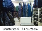 working clothes shop | Shutterstock . vector #1178096557