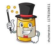 magician homemade mustard sauce ... | Shutterstock .eps vector #1178106811