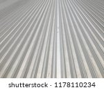 metal sheet roof on wide span... | Shutterstock . vector #1178110234