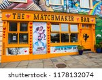 Small photo of Lisdoonvarna, Republic of Ireland - August 19th 2018: The Matchmaker Bar in the spa town of Lisdoonvarna in Ireland. The town hosts an annual matchmaking festival each September.