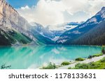 hiking in summer anature of... | Shutterstock . vector #1178133631