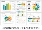 colorful accounting or... | Shutterstock .eps vector #1178149444