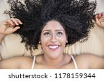 portrait of smiling young black ... | Shutterstock . vector #1178159344