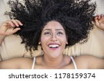 portrait of smiling young black ... | Shutterstock . vector #1178159374