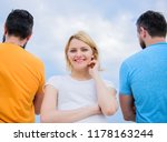 pick better boyfriend. girl... | Shutterstock . vector #1178163244