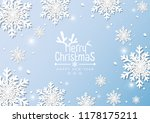 merry christmas and happy new... | Shutterstock .eps vector #1178175211