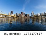 downtown urban waterfront and... | Shutterstock . vector #1178177617