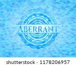 aberrant light blue mosaic... | Shutterstock .eps vector #1178206957