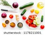 healthy food concept.... | Shutterstock . vector #1178211001