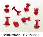 stationery office thumbtack ... | Shutterstock .eps vector #1178231911