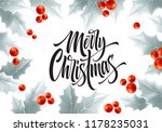 merry christmas hand drawn... | Shutterstock .eps vector #1178235031