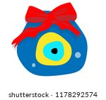 turkish culture evil eye vector  | Shutterstock .eps vector #1178292574