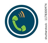 phone sign icon  call center ... | Shutterstock .eps vector #1178300974