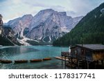 travel dolomites  italy... | Shutterstock . vector #1178317741