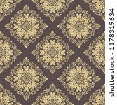 classic seamless vector golden... | Shutterstock .eps vector #1178319634