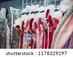 headband anime shop. | Shutterstock . vector #1178329297