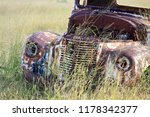 neglected old car   Shutterstock . vector #1178342377