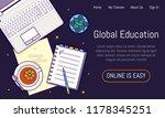 flat design baner for online...   Shutterstock .eps vector #1178345251
